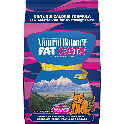 Natural Balance Fat Cats Low Calorie Dry Cat Food,...