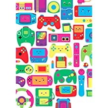 Plaquinha Decorativa Kit 10 Und Retro Consoles De Games