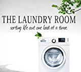 Laundry Room Walls Lchen Removable The Laundry Room Wall Sticker Washhouse Room Decal Decoration (Laundry02)