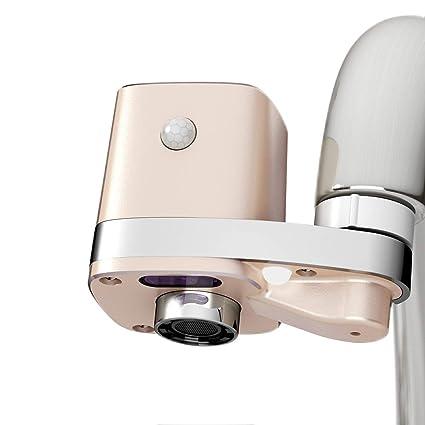 Techo Autowater B, Adaptador para grifo de baño sin contacto y automático, Adaptador de