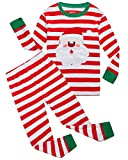 Boys and Girls Christmas Pajamas Cotton Toddler Clothes Kids PJS Sleepwear Size 4t