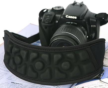 Quick Release Neoprene Camera Neck Shoulder Strap Black Adjustable Aircell Padded Camera Strap