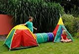 3 in 1 Childrens Adventure Play Dome Tent Tunnel Wigwam Outdoor Garden Game Toy  sc 1 st  Amazon UK & Waybuloo Peeka Pod 2 in 1 Tent: Amazon.co.uk: Toys u0026 Games