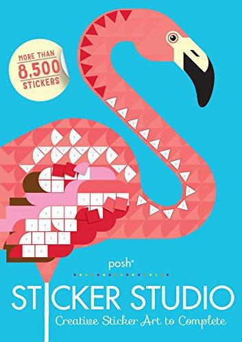 Posh Sticker Studio: Creative Sticker Art to Complete [Andrews McMeel Publishing] (Tapa Blanda)