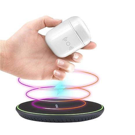 AirPods Diadia Qi - Cargador inalámbrico y Receptor de Carga, Funda para Auriculares Apple Airpods: Amazon.es: Deportes y aire libre
