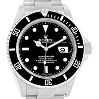 Rolex Submariner Automatic-self-Wind Male Watch 16610 (Certified Pre-Owned)