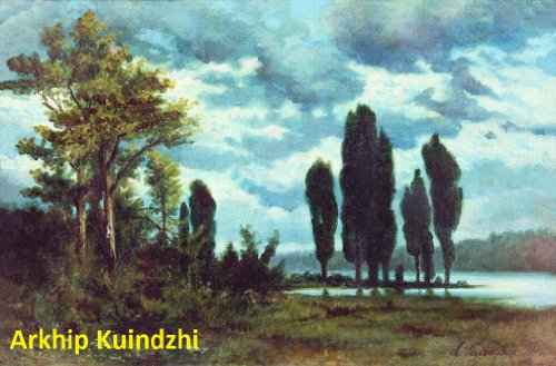 - 179 Color Paintings of Arkhip Kuindzhi -  Russian Landscape Painter (January 27, 1842 - July 24, 1910)