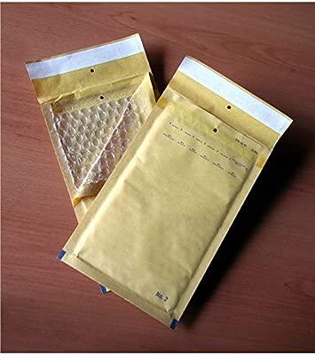 300 x Bolsos De Burbuja G//7 con ampollas Aire bolsillos bolsas ENVIO blanco