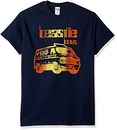 Official Beastie Boys Van Art T-Shirt, Navy. S to XXL