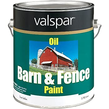valspar 3125 10 barn and fence latex paint 5 gallon red home improvement. Black Bedroom Furniture Sets. Home Design Ideas