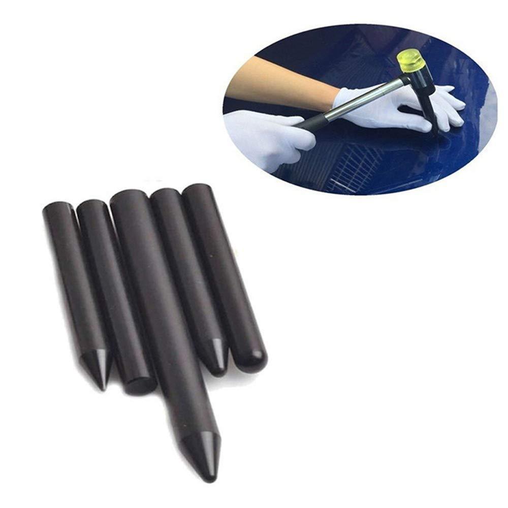 Blackr Car Paintless Dent Repair Hail rimozione Nylon Penna 5PCS//Set