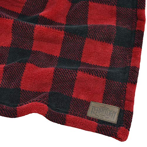 (Territory Buffalo Plaid Fleece Blanket)