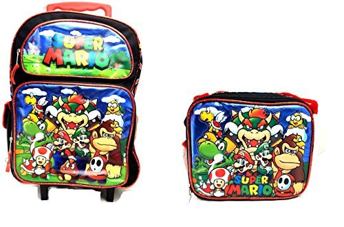 super mario rolling backpack - 5