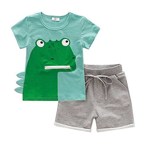 Little Boys Clothing Sets, Forest (5T) by Lkysaw