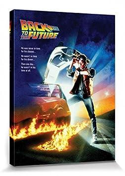 1art1 Regreso Al Futuro - Cartel De Cine Cuadro, Lienzo ...