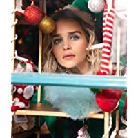 Emilia Clarke looking out of window Last Christmas 2019 8x10 Promotional Photograph