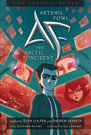 book cover of The Arctic Incident Graphic Novel