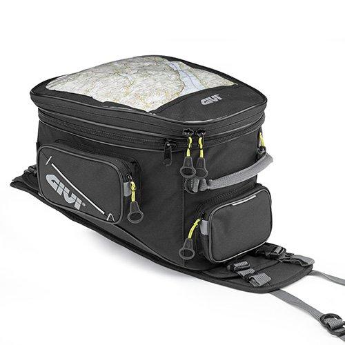 (Givi EA110B 25 Liter Tank bag for Adventure/Enduro Bikes, Black)
