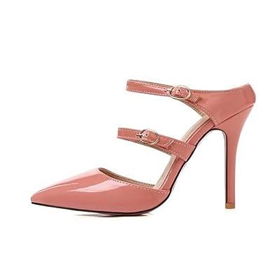 Wies Frau Schuhe, Schuhe, High Heels (Wildleder), Gelb, 42