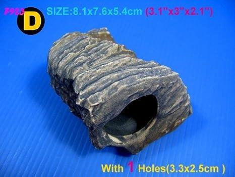 Seawhisper® Decoración de Acuarios Peceras Cueva Piedras Roca para cíclidos africanos Multifunciones: Amazon.es: Productos para mascotas