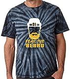 """The Silo TIE DIE Black Pittsburgh Kessel """"Beard"""" T-Shirt"""