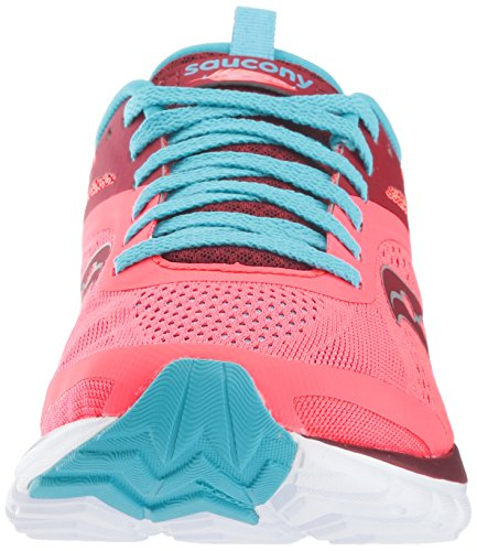 Saucony Womens Miles Sneaker Coral Blue