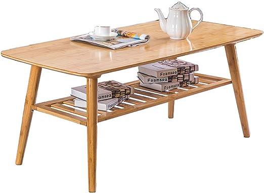 Xiix Mesas de Centro mesas de café Centro de Mesa de bambú Mesa ...