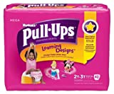 Health & Personal Care : Huggies Pull-Ups Training Pants Learning Designs, 2T - 3T, Girl, 42 Count (Pack of 4)