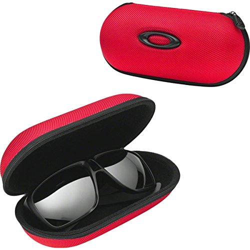 Oakley Large Ballistic Adult Soft Vault Case Sunglass Accessories - Red/One Size by Oakley