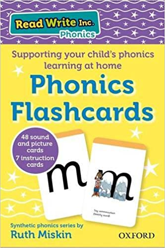 RWI phonics flashcards