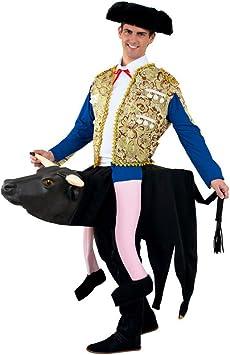 DISBACANAL Disfraz torero sobre Toro Adulto - -, XL: Amazon.es ...