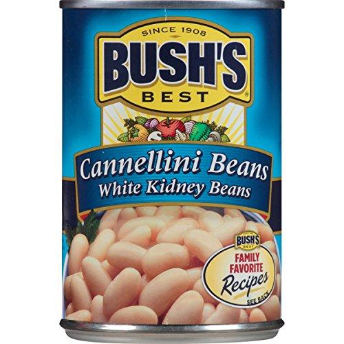 Bush's Best Cannellini Beans, 15.5 oz (12 cans)