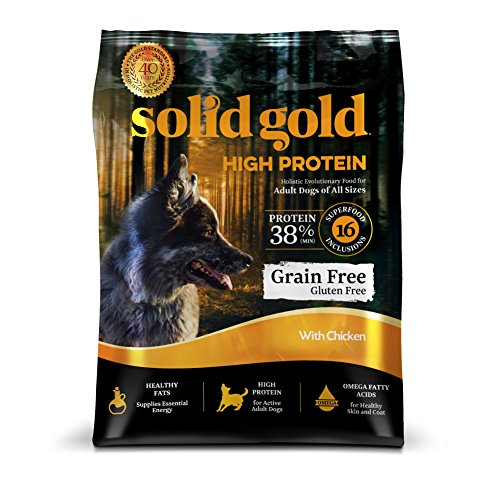 Cheap Discontinued By Manufacturer: Solid Gold High Protein Dry Dog Food, Chicken, 4lb