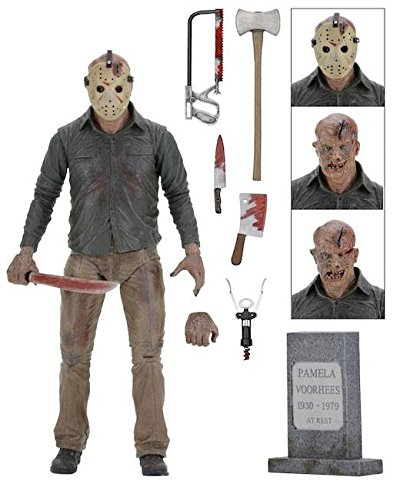 NECA – Friday the 13th – Ultimate Part 4 Jason 7″ Action Figure