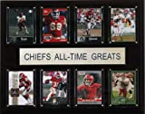 NFL Kansas City Chiefs All-Time Greats Plaque
