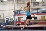 GK Glitz & Glam Gymnastics Leotard - Child Large,blue