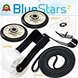 Ultra Durable 4392065 Dryer Repair Kit Replacement Part by Blue Stars - Exact Fit For Whirlpool & Kenmore Dryers - Replaces 279948 587636 80046 AP3131942