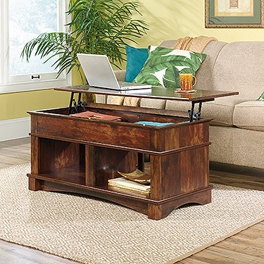 Sauder 422269 Harbor View Lift Top Coffee Table L 43 15