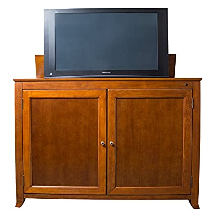 Touchstone 70045   Berkeley TV Lift Cabinet (Cherry)   Up To 60 Inch TVs