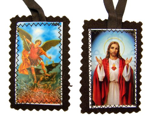Sacred Archangel Michael Scapular Necklace product image