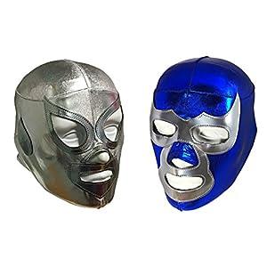 2 pack SANTO & DEMON Youth Lycra Lucha Libre Wrestling Mask – KIDS Costume Wear