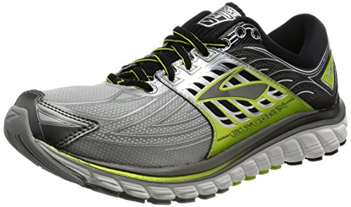 Brooks Glycerin 14 Running Sneaker Shoe - Silver/lime - Mens - 10