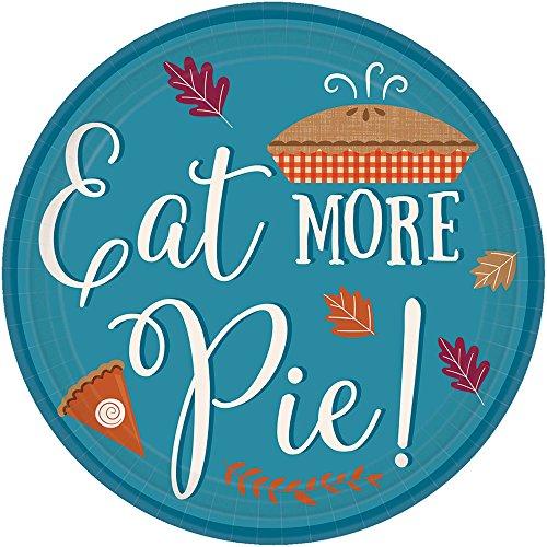 Eat More Pie Dessert Plates 7