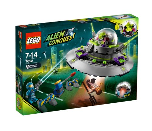 LEGO Alien Conquest UFO Abduction - 7052