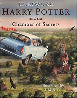 Image result for harry potter and the chamber of secrets illustrated edition