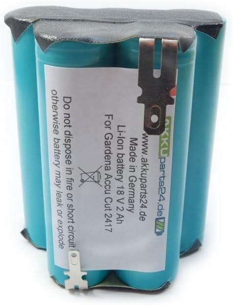 Batterie 18 V 1500 mAh pour Gardena 9839-20