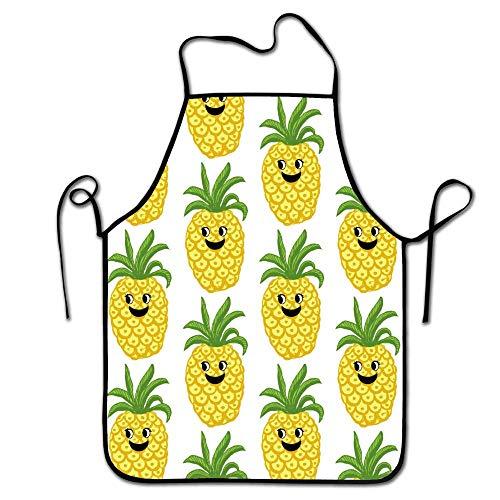 FEDDIY Machine Washable Cute Pineapple Durable String Apron
