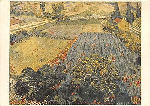 Poppy Field Vincent Van Gogh Postcard Unused: Amazon.es: Juguetes ...