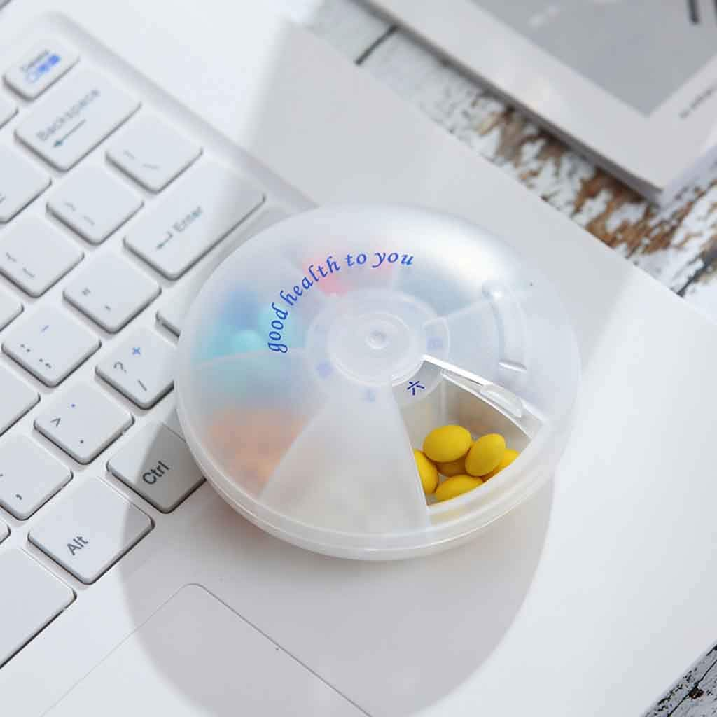 d4eb70aabf4a Amazon.com: Fan-Ling 7 Day Portable Travel Pill Box,Medicine Tablet ...