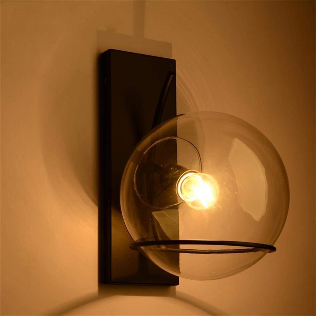 FuweiEncore American Style Retro Glas Runde Wandlampe, B 10 cm  H 30 cm (Farbe   -, Größe   -)